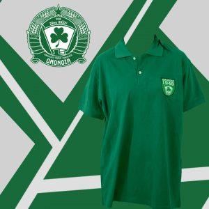 Πράσινη φανέλα με κολάρο/Green polo