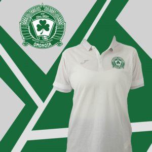 Άσπρη φανέλα με κολάρο/White t-shirt polo