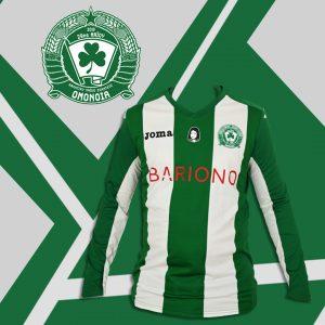 Πράσινη μακρομάνικη φανέλα ΟΜΟΝΟΙΑ/Green long sleeve Jersey OMONOIA