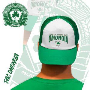 Πράσινο καπέλο / Green trucker caps
