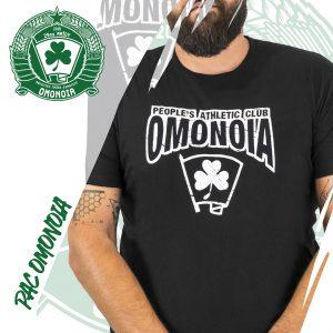 People's Athletic Club OMONOIA Μαύρη φανέλα / Black t-shirt